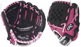 "Rawlings Playmaker Youth Series 10"" All-Position Softball Glove PM100BPW"