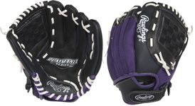 """Rawlings Playmaker Series Youth 11"""" Infield Glove PM11BPUR"""