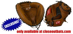 """Rawlings Heart of the Hide Spring Training X Outs Series 32.5"""" Catcher's Mitt PROSCM20JTXRDPRO (2020)"""