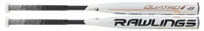 Rawlings Quatro Fastpitch Bat FP9Q9 -9oz (2019)
