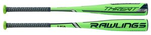 "Rawlings Threat 2-5/8"" Youth USA Bat US9T12 -12oz (2019)"