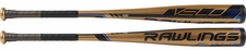 "Rawlings Velo 2-5/8"" BBCOR Bat BB9V3 -3oz (2019)"