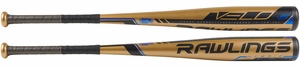 "Rawlings Velo 2-5/8"" Big Barrel USSSA Bat UT9V5 -5oz (2019)"