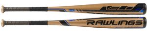 "Rawlings Velo 2-5/8"" Big Barrel USSSA Bat UT9V8 -8oz (2019)"