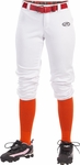 Rawlings Launch Women's White Belted Pants WLNCH-W