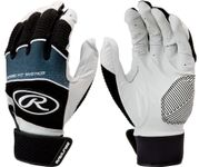 Rawlings Workhorse Black Adult Batting Gloves WH950BG-B