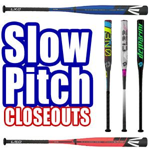 Slowpitch Softball Bats -- Closeouts