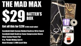 The MAD MAX $29 Batter's Box