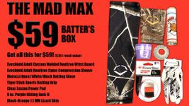 The MAD MAX $59 Batter's Box