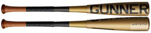 "Warstic Gunner LE Gold 2-5/8"" Big Barrel USSSA Bat -5oz MB-GNR-G-5 (2020)"