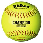 "Wilson 11"" Polycore Optic Yellow Softballs WTA9231BASA-LOW -- 1 DZ"
