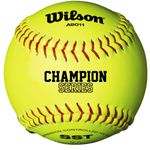 "Wilson 12"" Champion Optic Yellow Softballs WTA9011BSST -- 1 DZ"