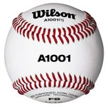 "Wilson 9"" Pro Series White Baseballs WTA1001BFS W/ Various Conference Stamps  -- 1 dz"