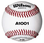 "Wilson 9"" Pro Series White Baseballs WTA1001BFS w/Various Conference Stamps  -- 1 DZ"