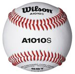 "Wilson 9"" A1010S Official High School Leather Blem Baseballs -- 1 DZ"