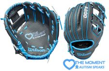 """Wilson A200 Series Love the Moment Edition 10"""" Infield Tee Ball Glove WTA02RB19AS (2019)"""