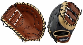 "Wilson A2K SuperSkin Series 12.5"" First Base Mitt WTA2KRB191617SS (2019)"