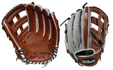 """Wilson A2K SuperSkin Series 12.75"""" Outfield Glove WTA2KLB191799SS (2019) -- LHT Only"""
