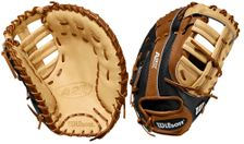 "Wilson A2K SuperSkin Series 12.25"" First Base Mitt WTA2KRB202820SS (2020)"