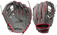 "Wilson A450 Series 11.5"" All-Position Glove WTA04RB19115 (2019)"