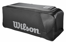 Wilson Black Team Gear Wheeled Bat Bag WTA9710BL