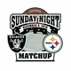 2018 Raiders vs. Pittsburgh Steelers Game Day Lapel Pin