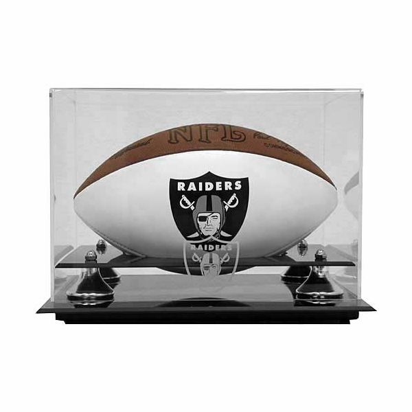 Football Case With Raiders Logo