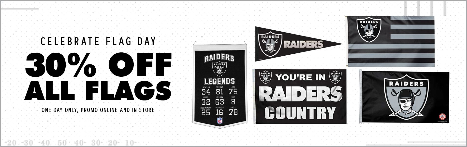 b37b4b391be The Raider Image - The Official Store for Oakland Raiders Merchandise