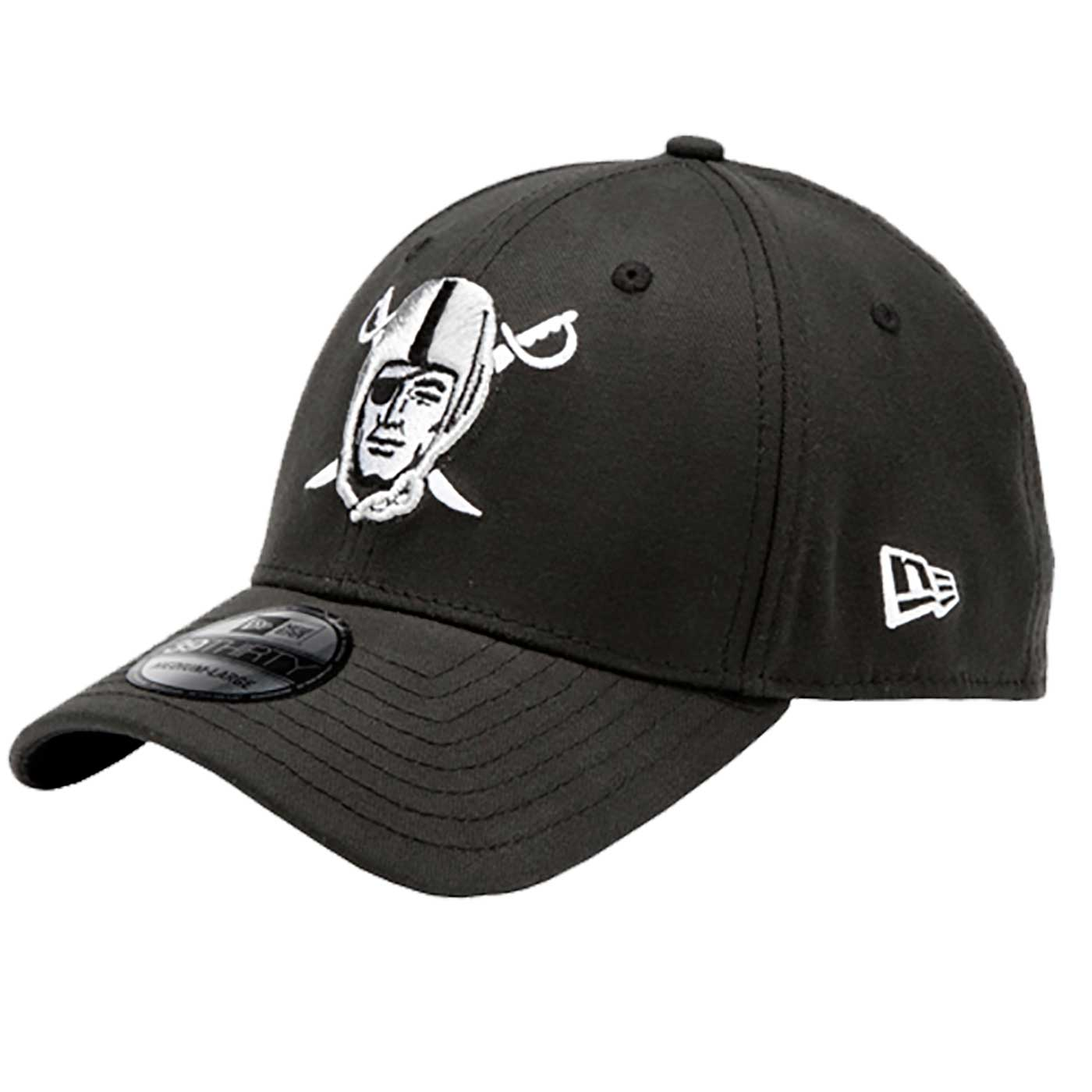 691cdea2 Raiders New Era 39Thirty Pirate Logo Cap