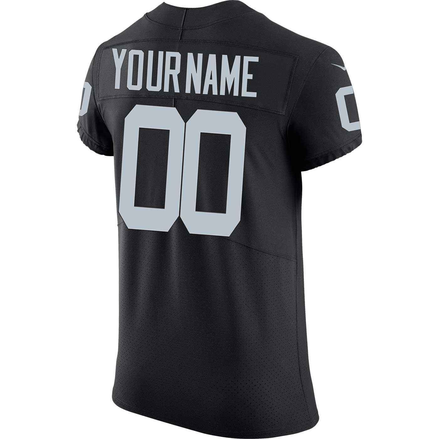 f138cd55 Raiders Nike Custom Black Elite Jersey