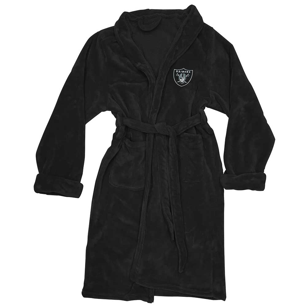 70b48391d8 Raiders Silk Touch Black Robe