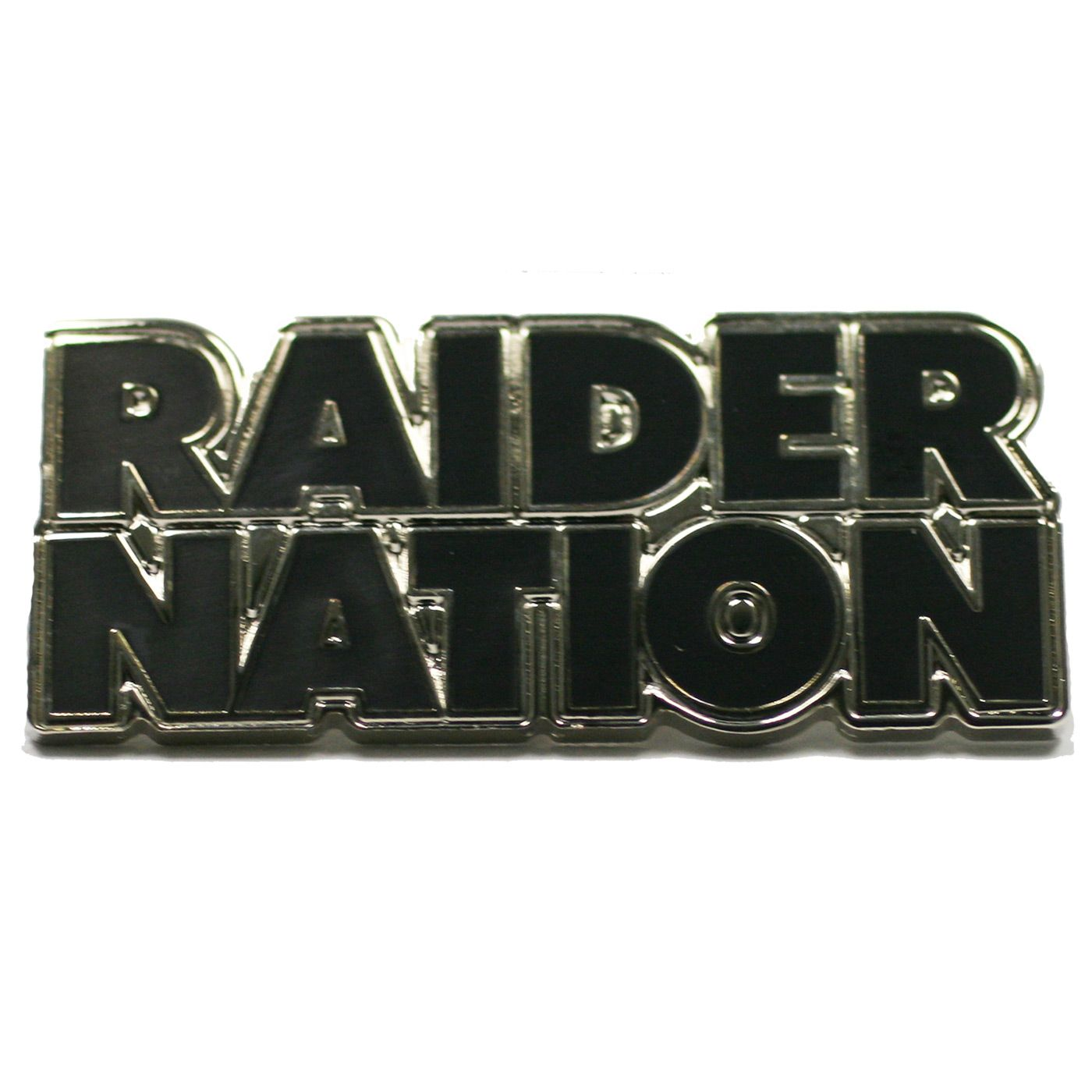 0c44037c7 Raider Nation Lapel Pin