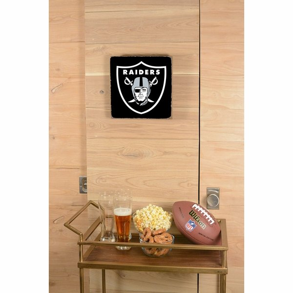 Raiders 12 x 12 Vintage Black Square