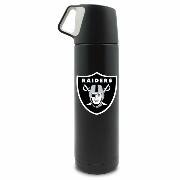 Raiders 17oz Stainless Steel Coffee Thermos