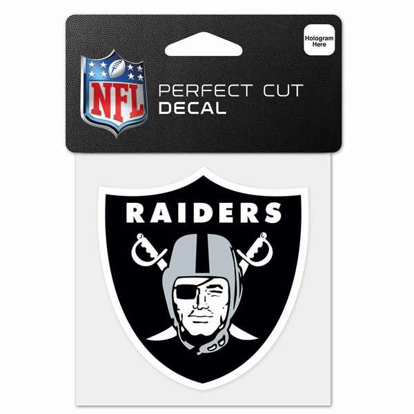 Raiders 4 x 4 Full Color Decal