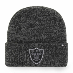 Raiders 47 Brand Brain Freeze Cuff Knit 7ec7b1161