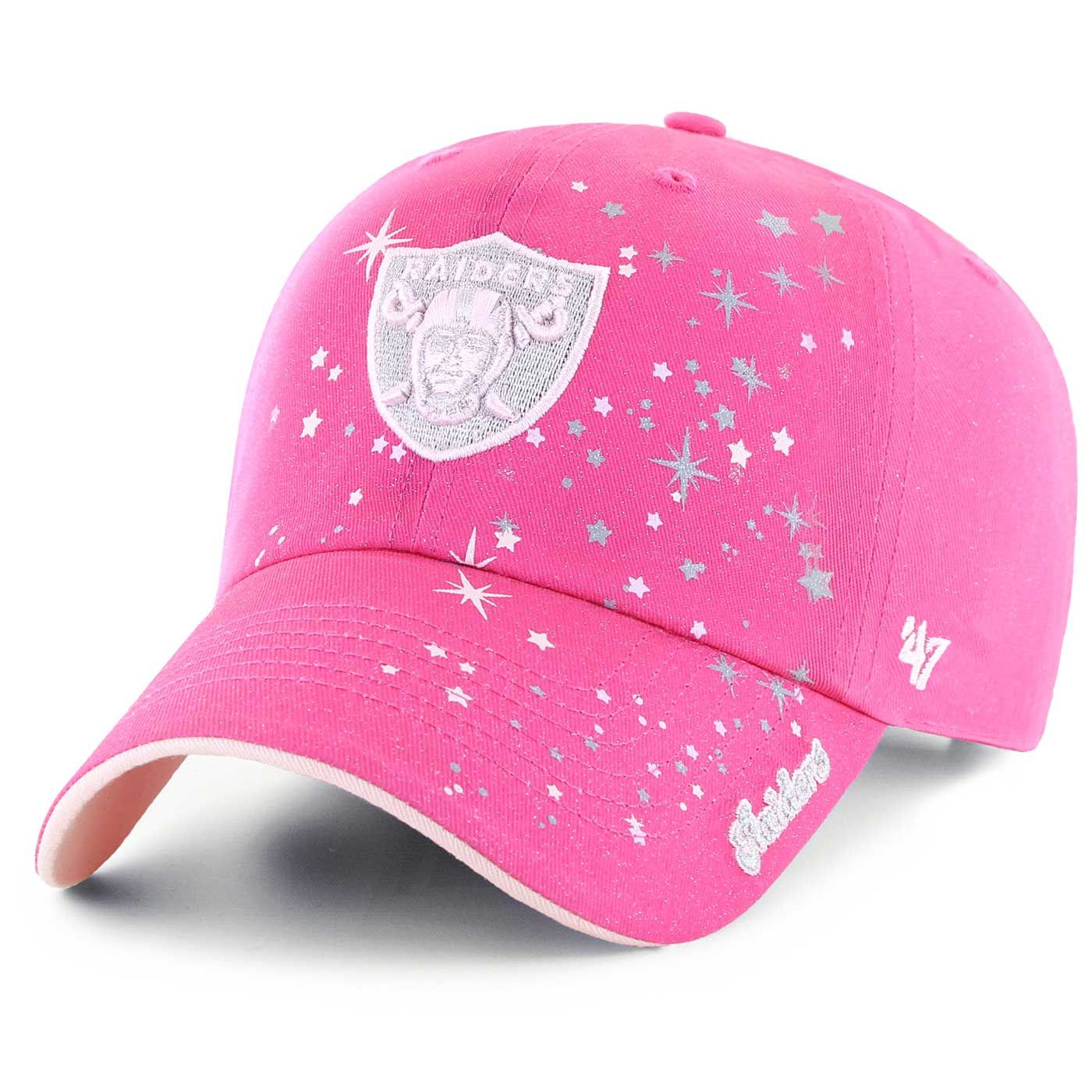 e44300b6 Raiders 47 Brand Girls Stardust Cap