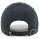 Raiders 47 Brand Primary Clean Up Black & White Cap