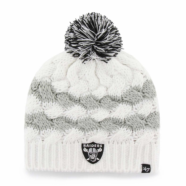 Raiders 47 Brand Topsail Knit Cap