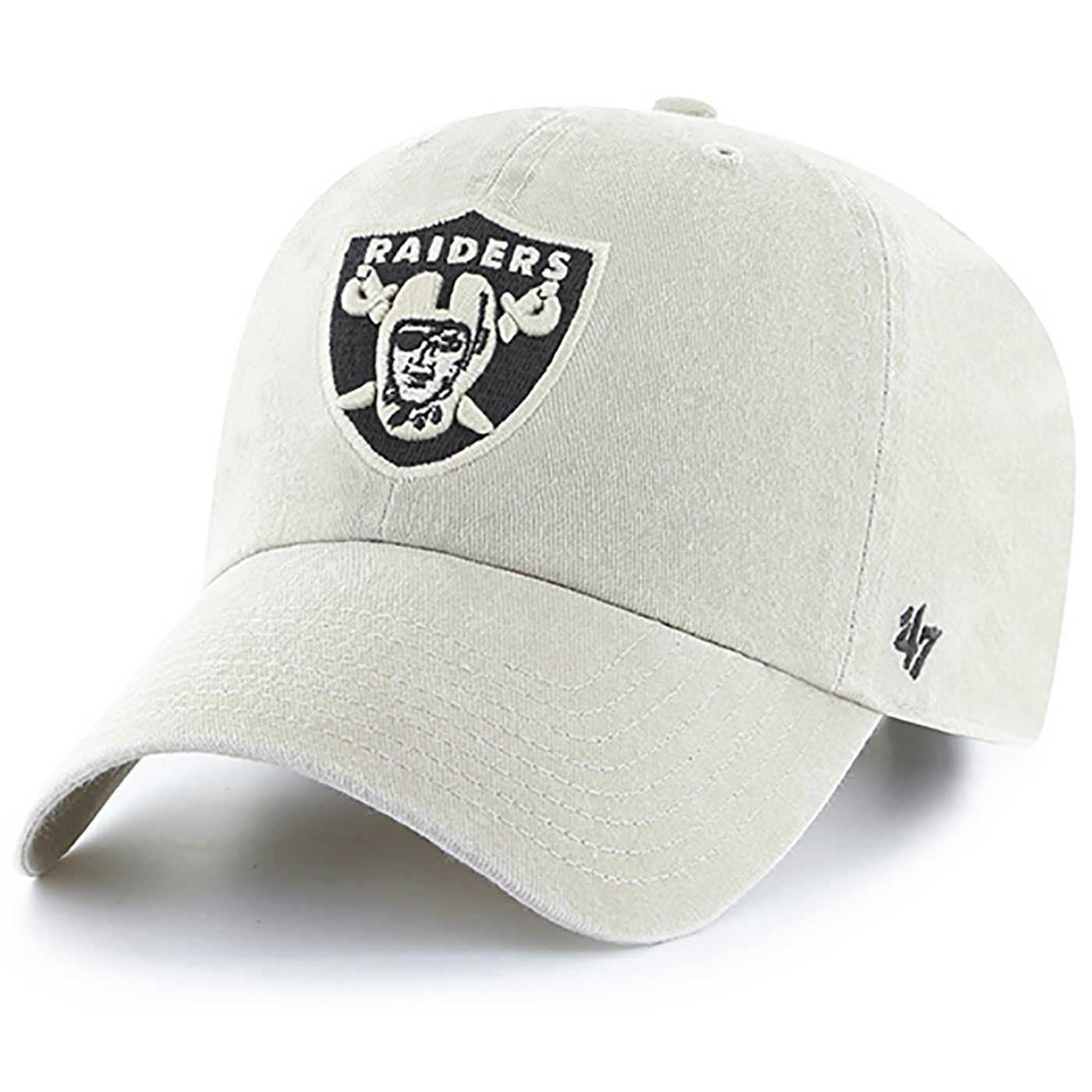 Raiders 47 Brand Women s Portsmouth Clean Up Cap 943e1f5a1b