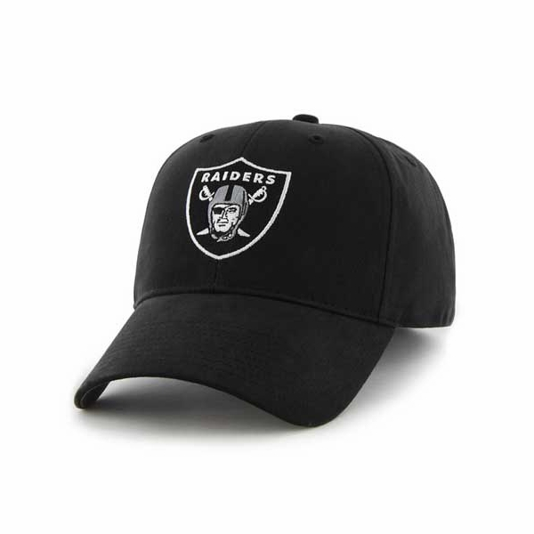 33557d0c Raiders 47 Brand Youth Black Basic Logo Cap