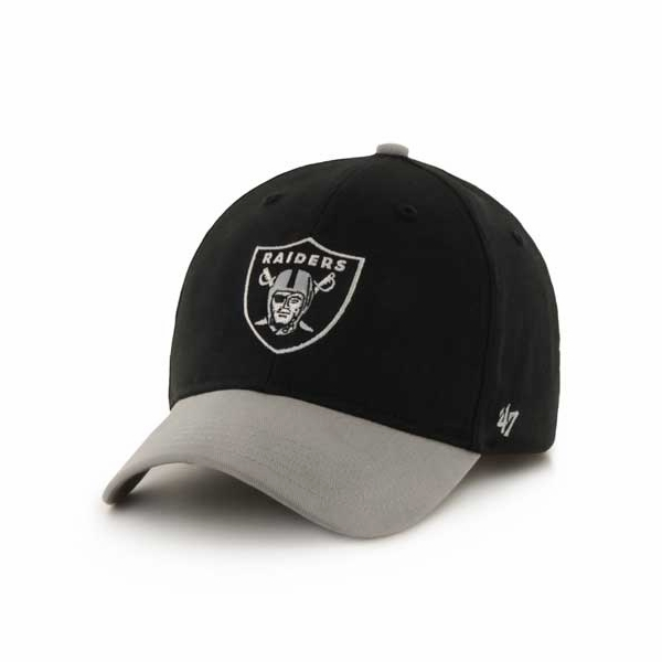 2a668508 Raiders 47 Brand Youth Short Stack Cap