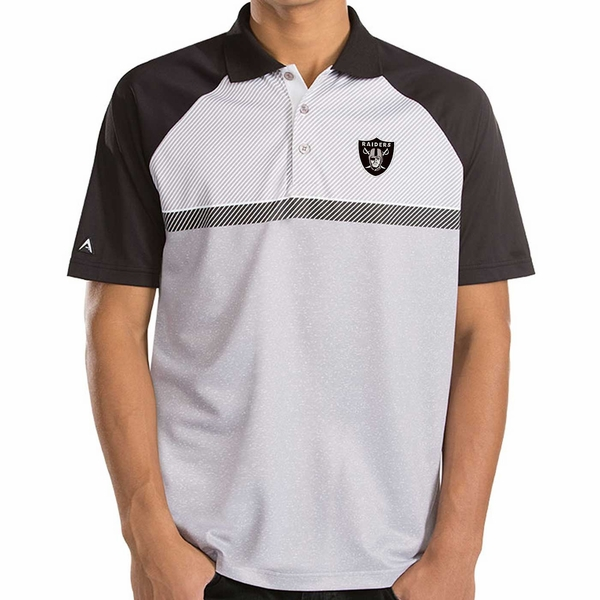 Raiders Antigua Momentum Polo