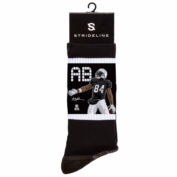 Raiders Antonio Brown Handshake Socks