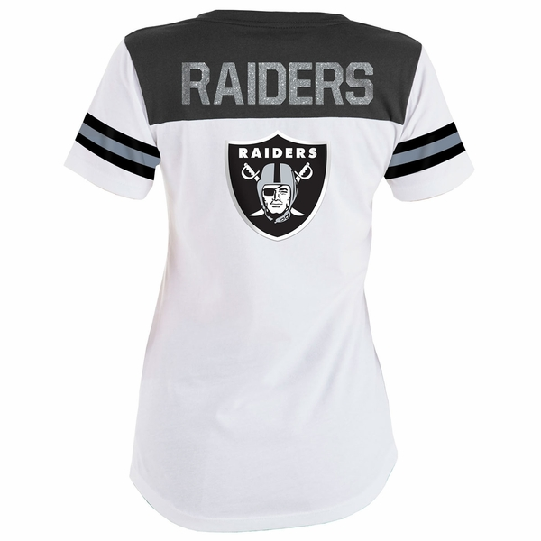 Raiders Baby Jersey Lace Up Tee