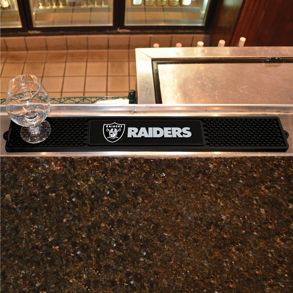Raiders Bar Drink Mat