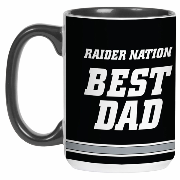 Raiders Best Dad Mug