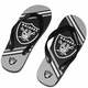 Raiders Big Logo Flip Flops