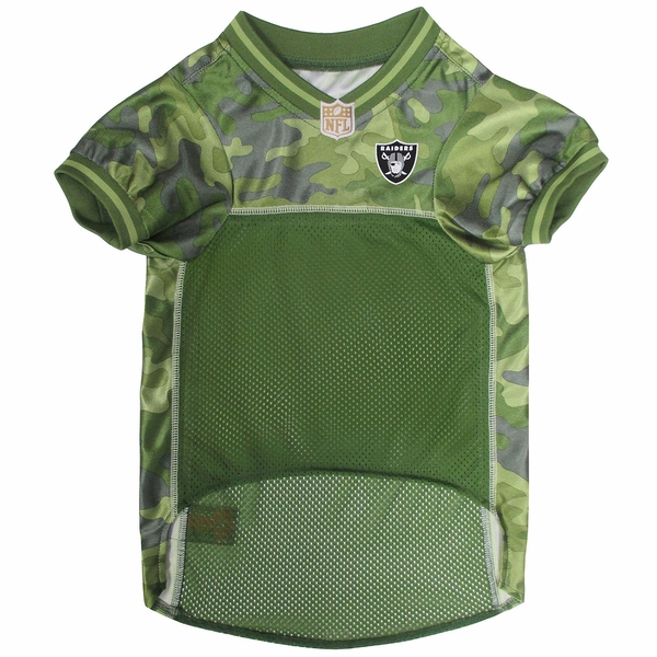 Raiders Camo Dog Jersey