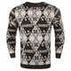 Raiders Candy Cane Sweater